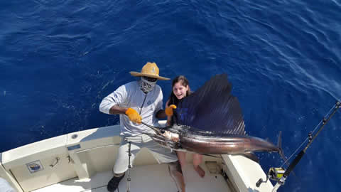 quepos offshore fishing charters